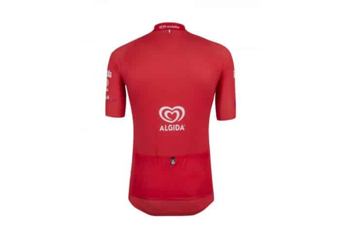 Maillot Rojo Giro de Italia 2016 trasera