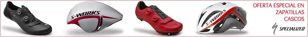 Oferta especial en zapatillas y cascos specialized