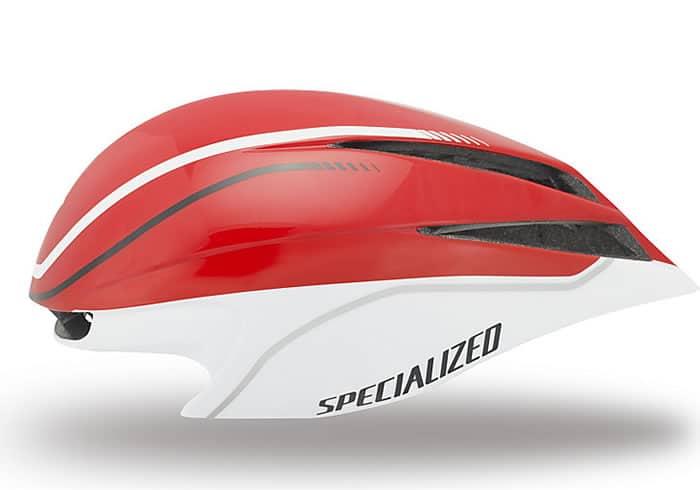 Casco aero specialized TT2. Utilizado en el Tour de Francia y ahora disponible para los ciclistas de todo el mundo, el TT2 está a kilómetros por delante de la competencia en aerodinámica, ventilación y ajuste.