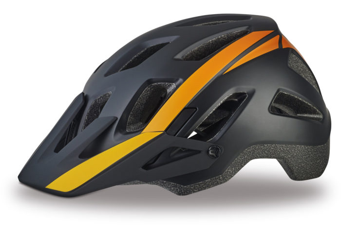 Casco Specialized Ambush comp 2017 negro-naranja