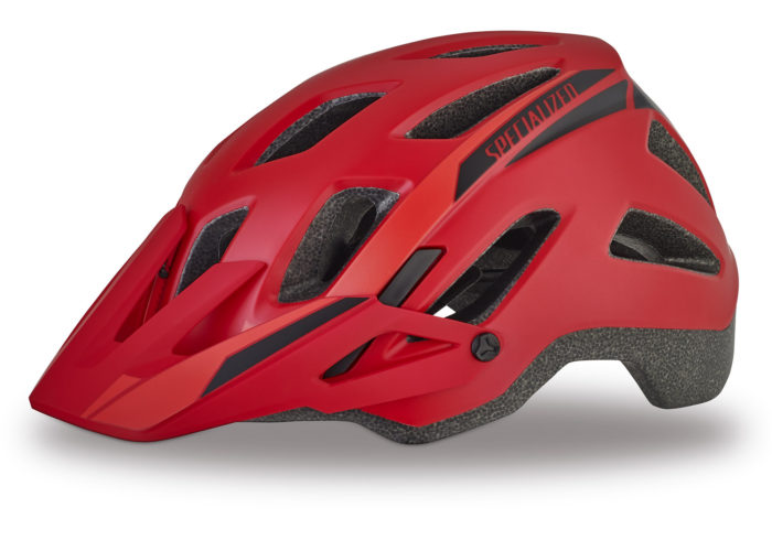 Casco Specialized Ambush comp 2017 rojo