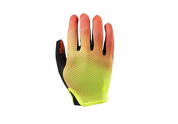 Guantes specialized grail long finger torch edition