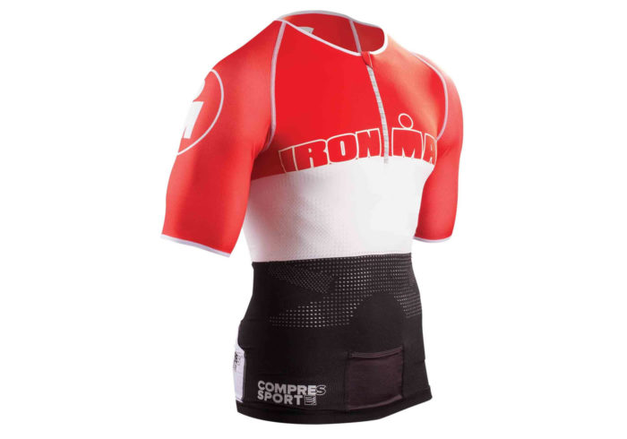 Maillot Top Compressport TR3 AERO IRONMAN