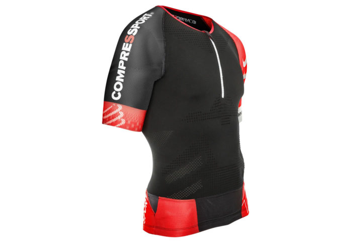 Maillot Top Compressport TR3 AERO negro