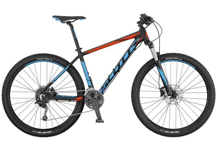 Scott Aspect 730-930 2017. La Aspect 730 de SCOTT es una bicicleta de montaña rígida diseñada para ser ligera y eficiente a un precio razonable. La horquilla cuenta con el mecanismo de bloqueo, los frenos son de disco y los componentes de Syncros. Es el modelo perfecto para principiantes o para usuarios de bicicleta de montaña que se guíen por el presupuesto.