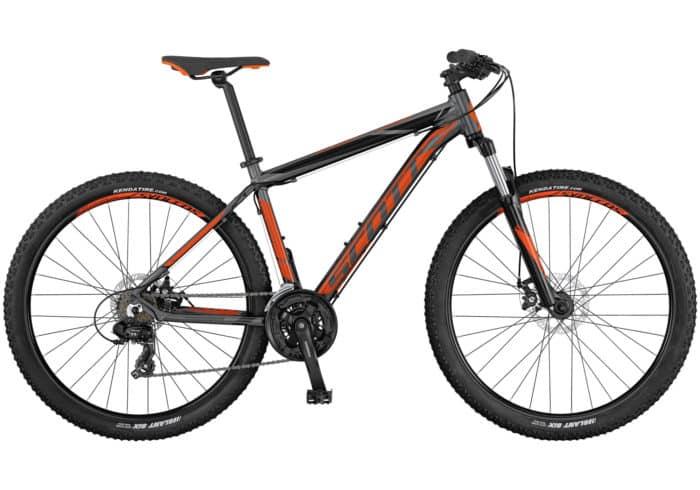 """Scott Aspect 770-970 2017. La Aspect 770 de SCOTT es una bicicleta rígida sin suspensión trasera, diseñada para ser ligera, eficaz y de precio razonable. Los frenos son de disco y los componentes de Syncros. Es el modelo perfecto para principiantes o para usuarios de bicicleta de montaña que se guíen por el presupuesto. Disponible en tamaño de rueda de 27,5""""."""