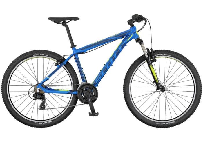 """Scott Aspect 780-980 2017. La Aspect 770 de SCOTT es una bicicleta rígida sin suspensión trasera, diseñada para ser ligera, eficaz y de precio razonable. Los frenos son de disco y los componentes de Syncros. Es el modelo perfecto para principiantes o para usuarios de bicicleta de montaña que se guíen por el presupuesto. Disponible en tamaño de rueda de 27,5""""."""