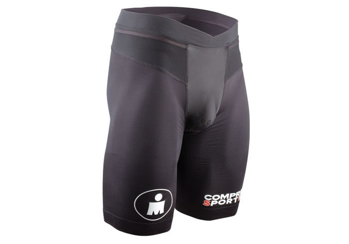 Short TRI Compressport TR3 BRUTAL negro