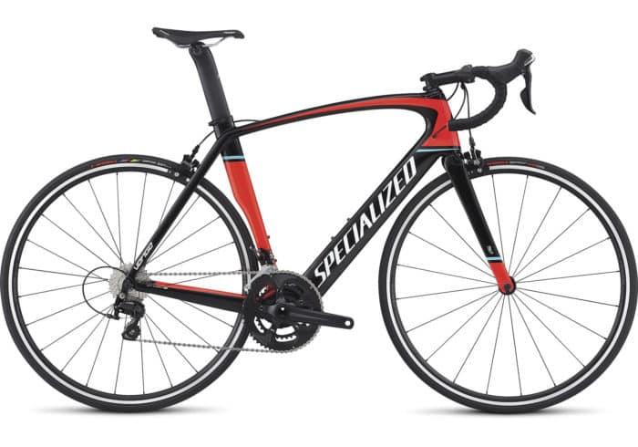 Specialized Venge Elite 2018 Negra-Roja. Si quieres hacer la bici más rápida del mundo, comienza por construir tu propio túnel de viento. Cada elemento de la Venge Elite ha sido diseñado al unísono para crear una bici excepcionalmente aerodinámica.