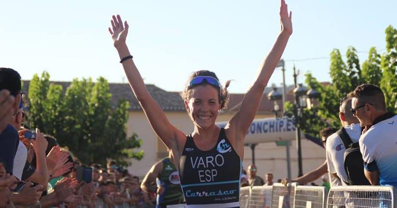 maria varo - campeonato regional de triatlon olimpico de cuenca 2016