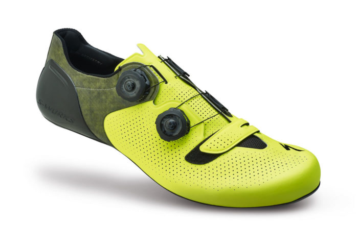zapatillas de ciclismo specialized s-works 6 amarillas