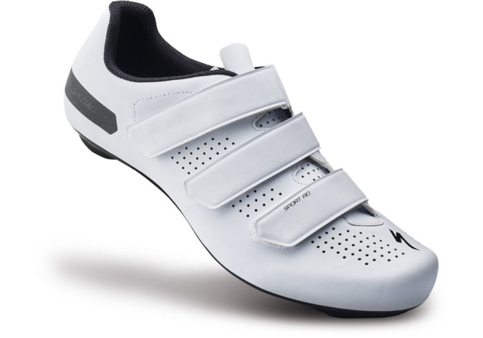 zapatillas de ciclismo specialized sport road blancas