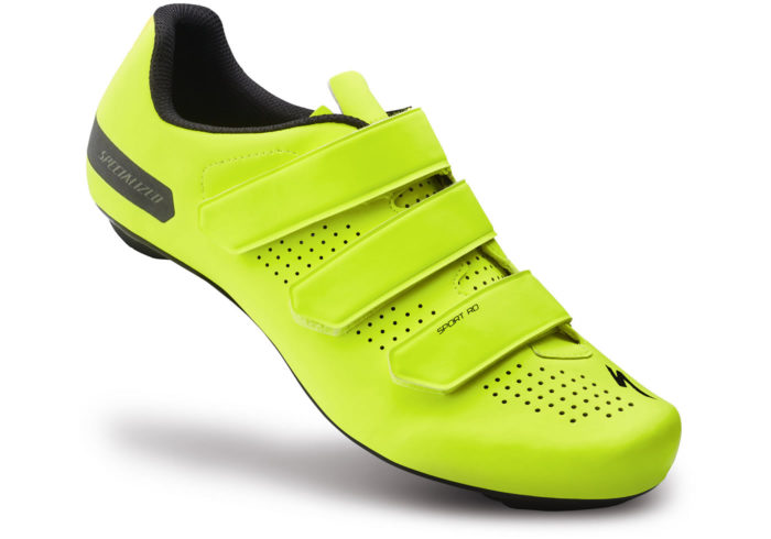 zapatillas de ciclismo specialized sport road fluor
