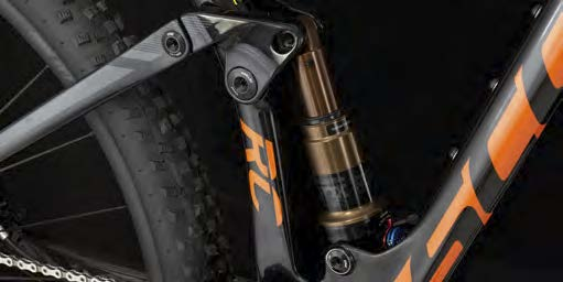El sistema patentado de TwinLoc de SCOTT sigue siendo el único sistema del mercado que controla el caudal de aire y la amortiguación y que ofrece 3 configuraciones de bicicleta distintas.