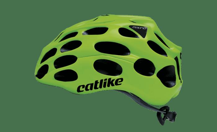 El nuevo tope de gama Mixino es la última evolución de la filosofía Catlike y el primer casco para ciclismo en incorporar nanofibras de Grafeno en su malla interna de aramida. Gracias al uso de este revolucionario material se consigue crear un casco muy ligero y ventilado.