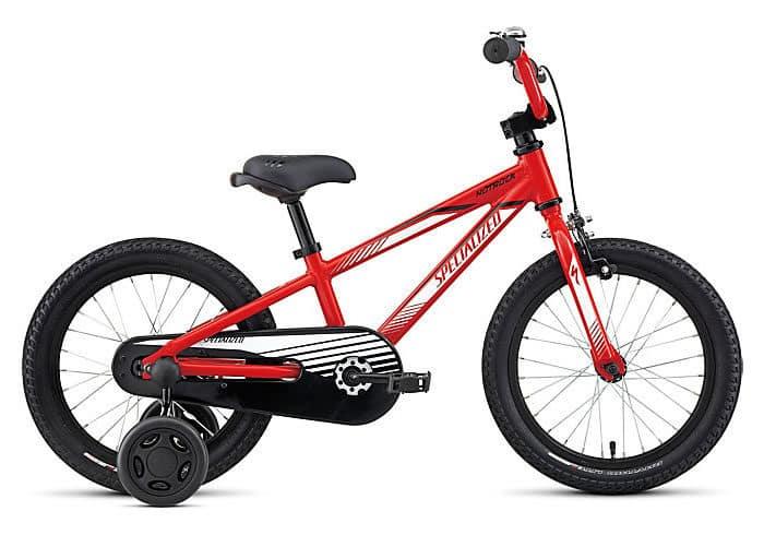bicicleta infantil specialized hotrock 16