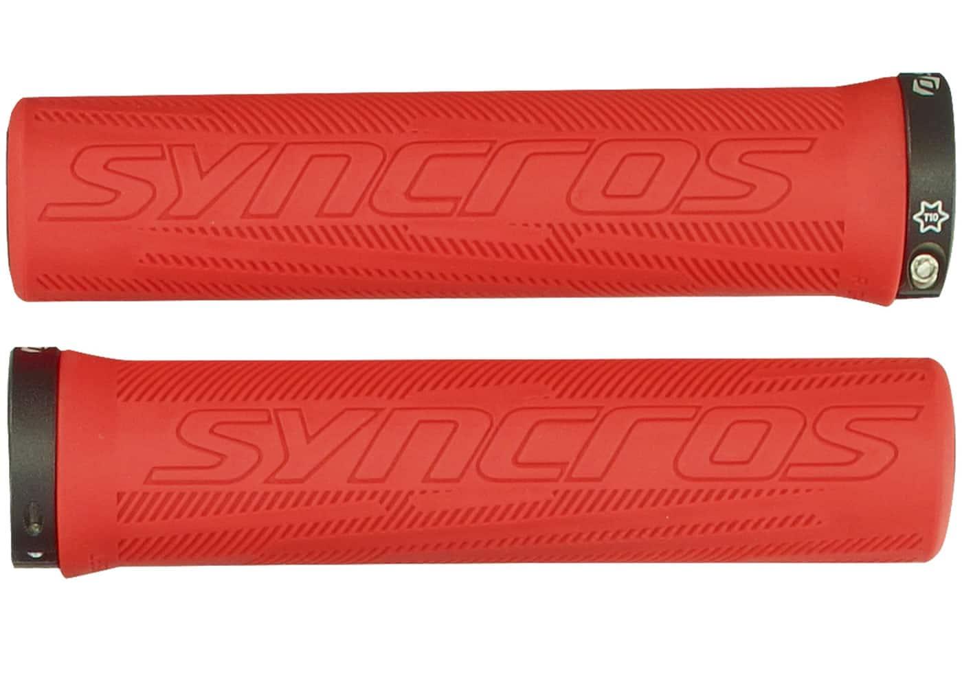 /Pu/ños para manillar de bicicleta rosa Syncros Pro/