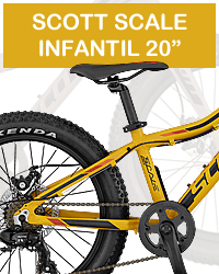Bicicleta infantil scott scale junior 20 plus