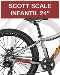 Bicicleta infantil scott scale junior 24 plus