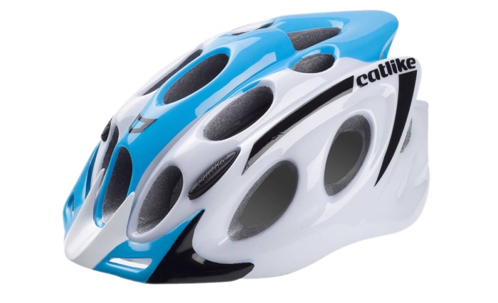 Casco MTB Catlike Kompacto 2016 blanco-azul