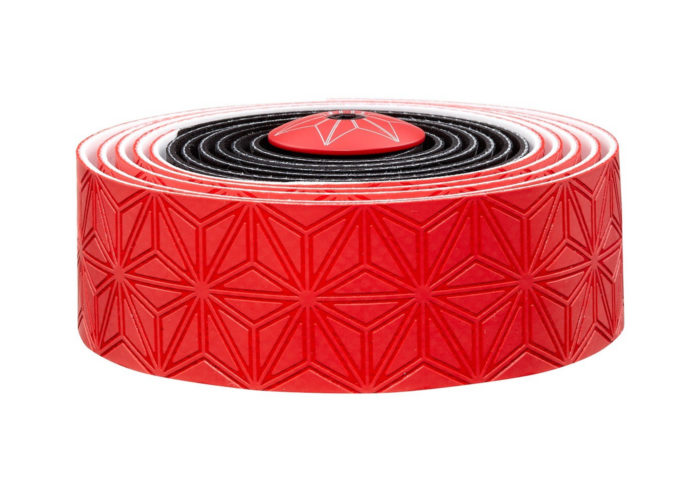 Cinta manillar Supacaz roja-negro