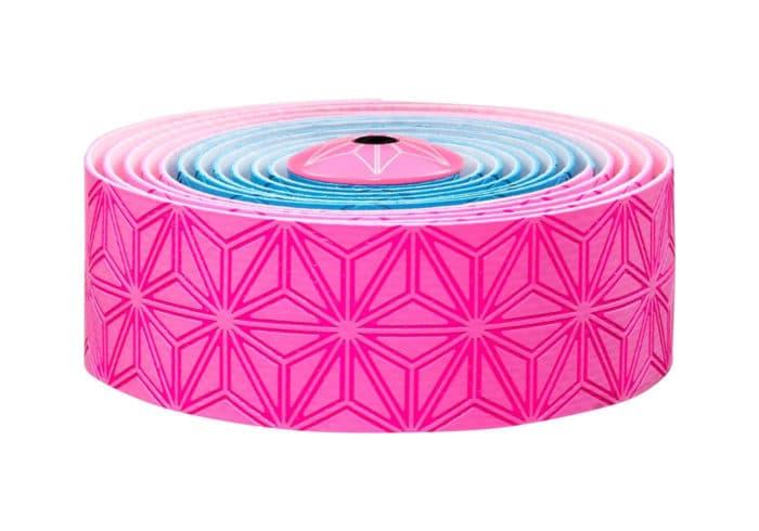 Cinta manillar Supacaz rosa-azul fluor