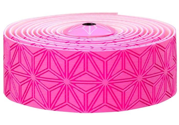 Cinta manillar Supacaz rosa fluor