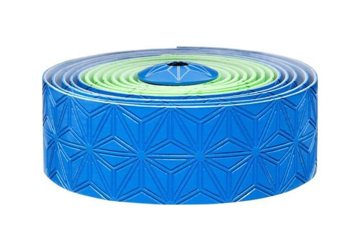 Cinta manillar Supacaz verde-azul fluor