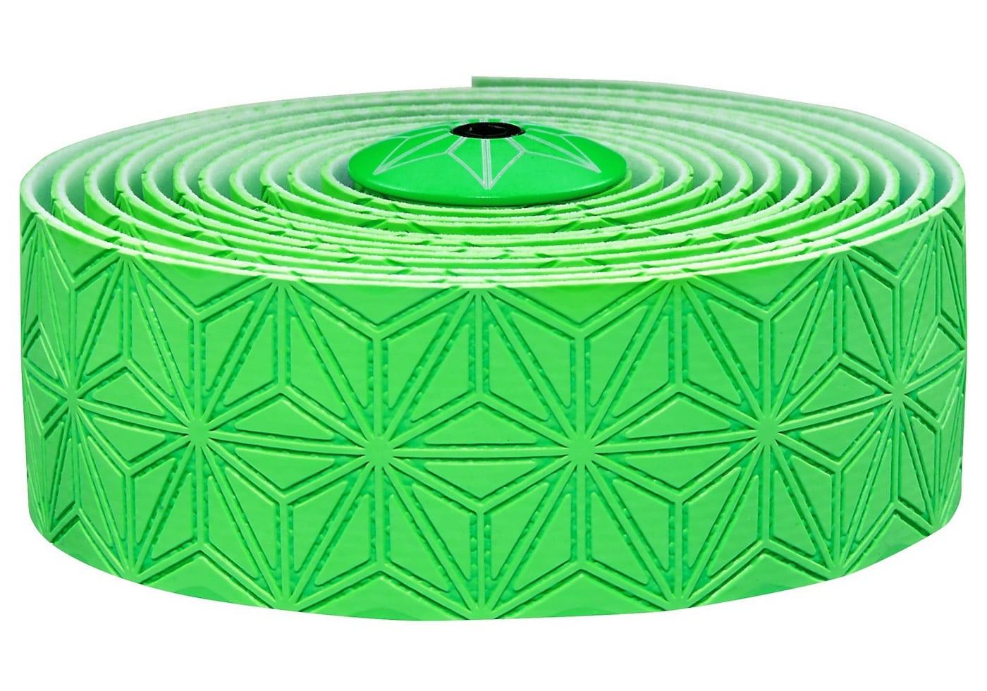 Cinta manillar Supacaz verde fluor