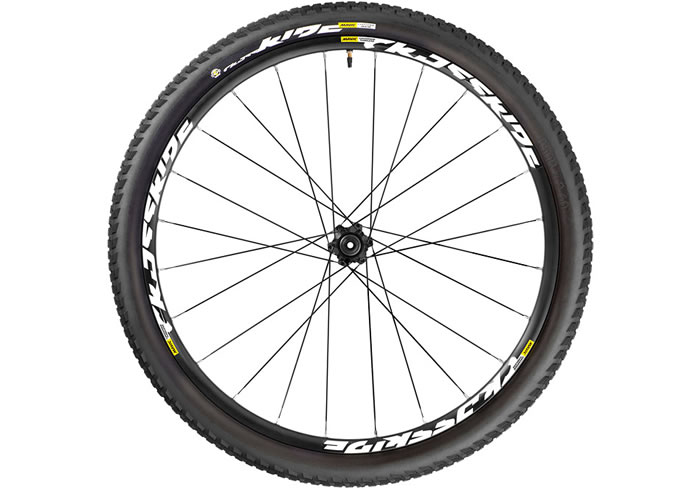 Ruedas Mavic Crossride tubuless pulse trasera