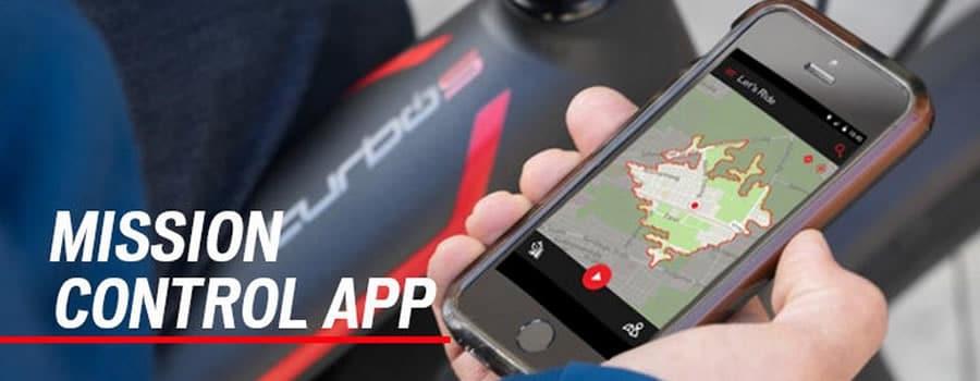 Aplicación para e-bikes Specialized - Mission Control App