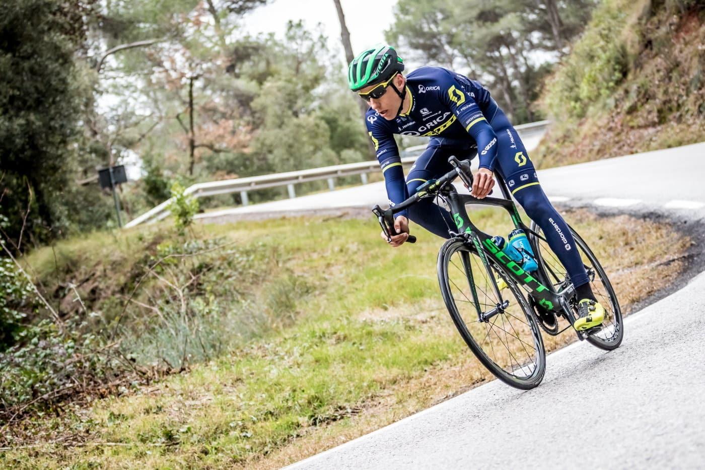 Entrenamiento en bici con Carlos Verona