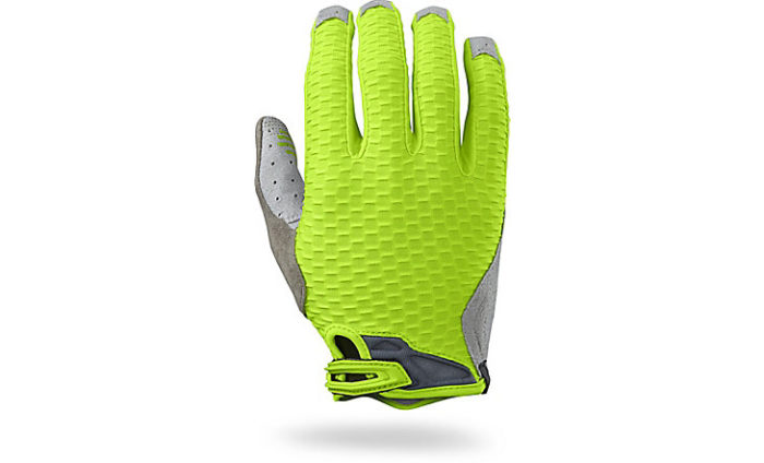 Guantes Specialized body geometry gel ridge fluor