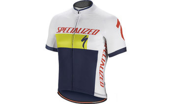 Maillot Specialized RBX COMP LOGO SS blanco