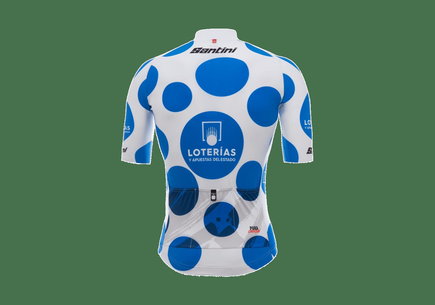 Maillot Montaña La Vuelta 2017 II