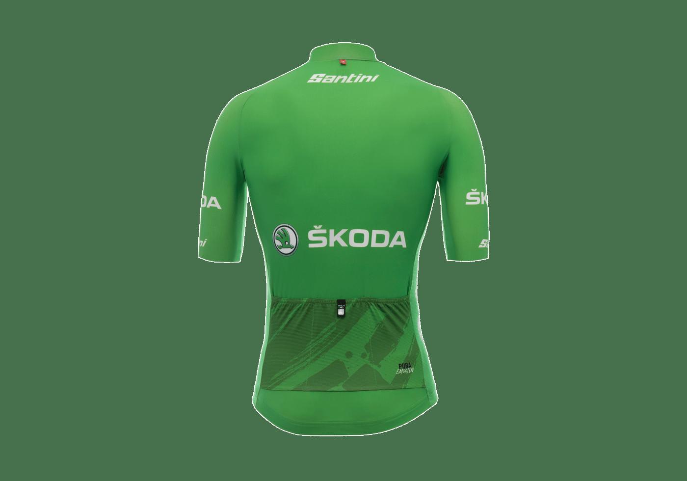 Maillot Verde La Vuelta 2017 II