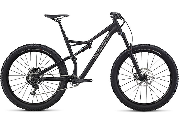 STUMPJUMPER FSR COMP 6FATTIE -2017 NEGRA