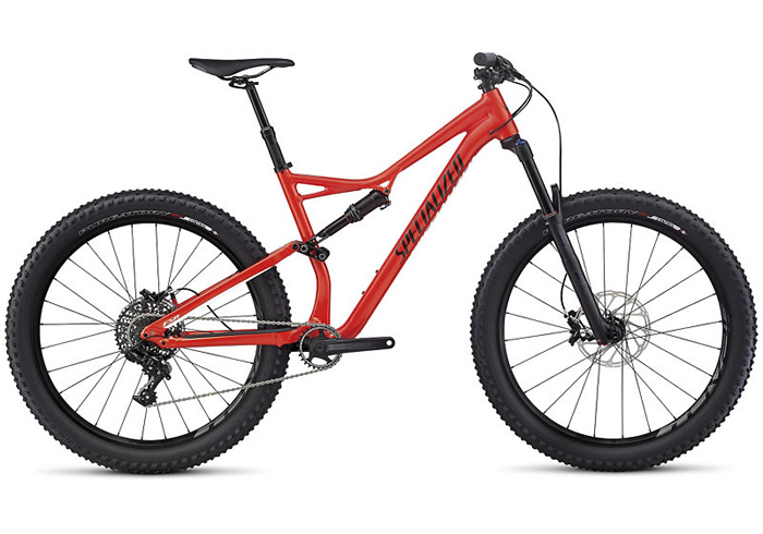 STUMPJUMPER FSR COMP 6FATTIE -2017 ROJA