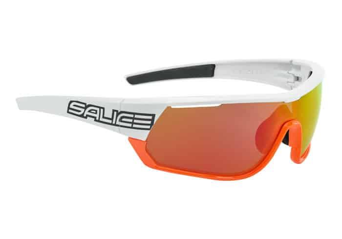 Gafas Polarizadas Salice 016 RW blanca-naranja