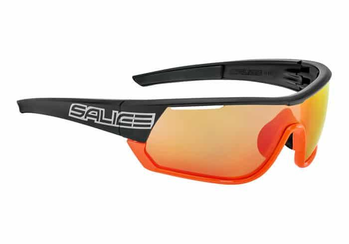 Gafas Polarizadas Salice 016 RW negro-naranja