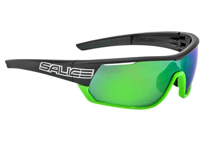 Gafas Polarizadas Salice 016 RW negro-verde