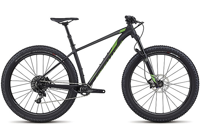 Specialized Fuse Comp 6Fattie 2017 negra-verde