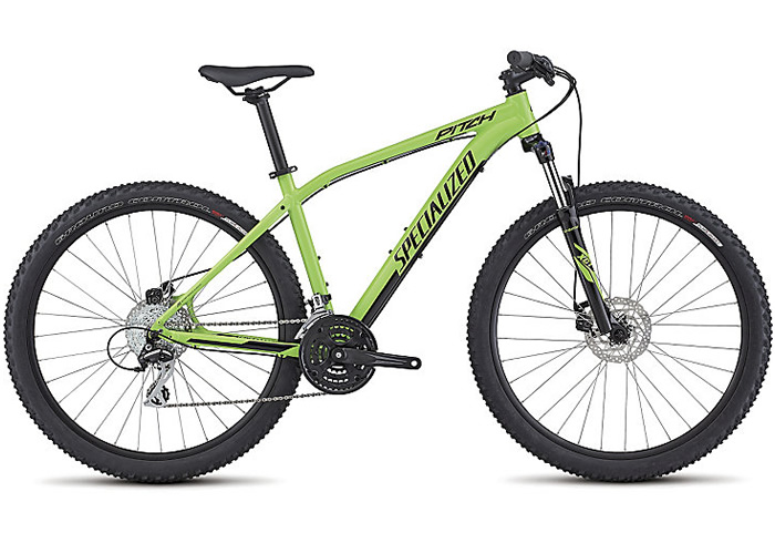 Specialized Pitch 650B 2017 verde