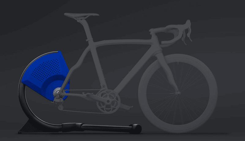 Rodillo Bkool-smart-Air con bicicleta 2018