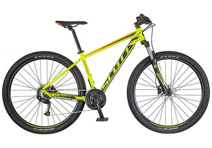 Bicicleta MTB Scott Aspect 950 2018 amarilla