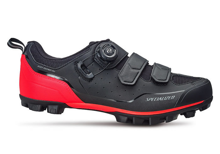 Zapatillas Specialized Comp MTB 2018 negra-roja