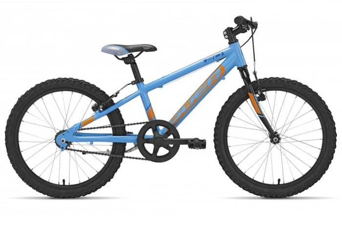 Bicicleta Infantil Qüer 20 azul 2018