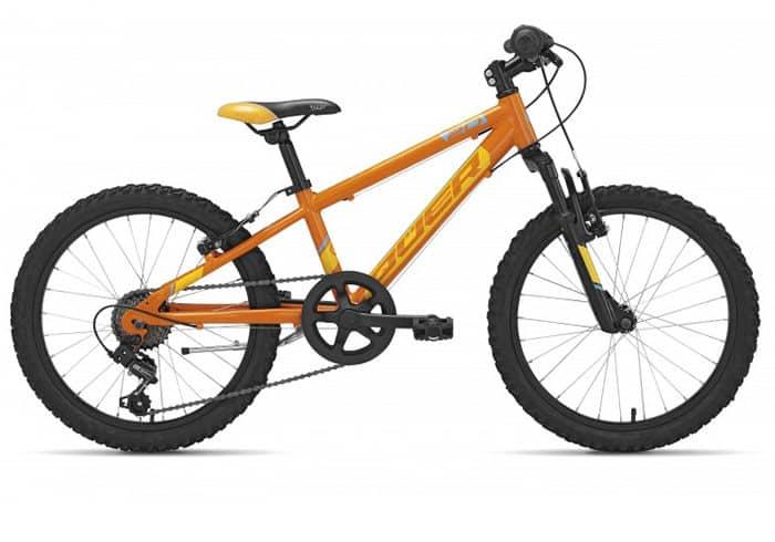 Bicicleta Infantil Qüer 20 naranja 2018