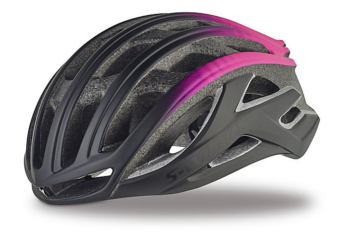 Casco Specialized S-WORKS PREVAIL II 2018 negro-rosa
