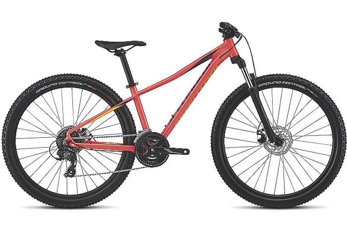 Bicicleta montaña mujer Pitch 27,5 Roja 2018